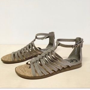 Sam Edelman Circus Carey Gladiator Sandals 6.5